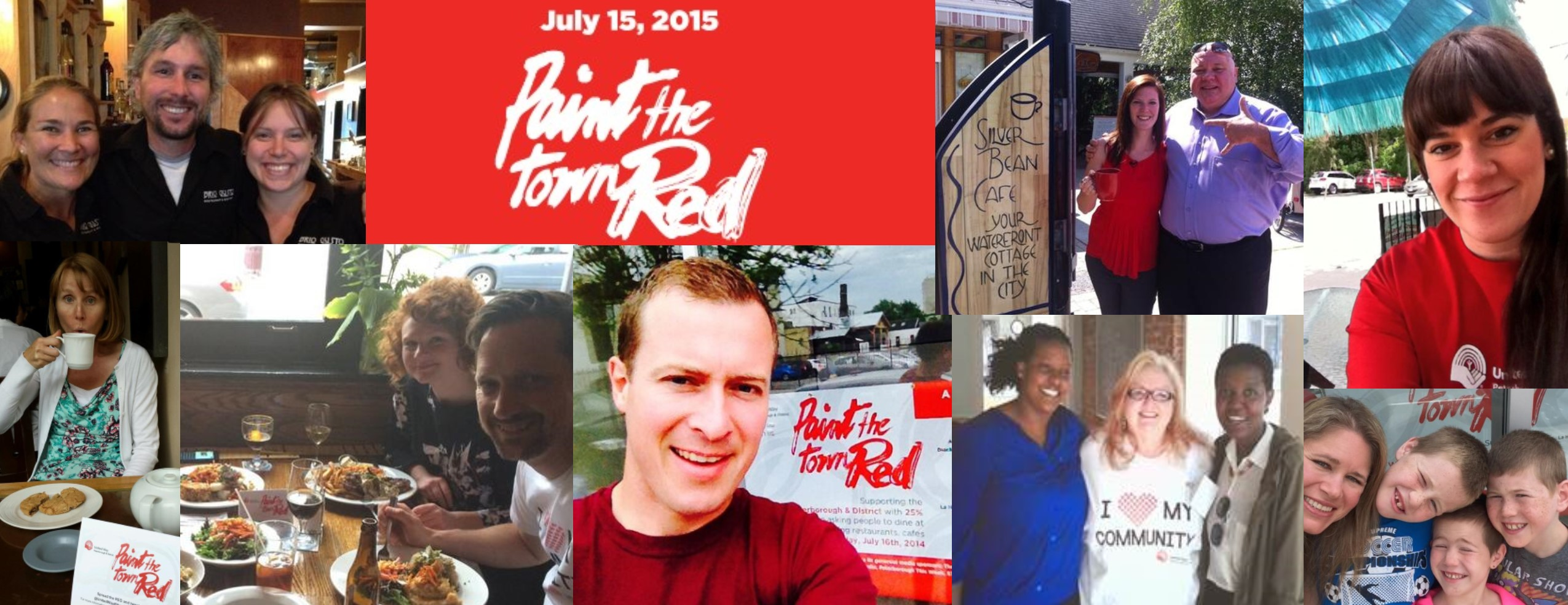 Paint The Town Red A Success United Way Peterborough