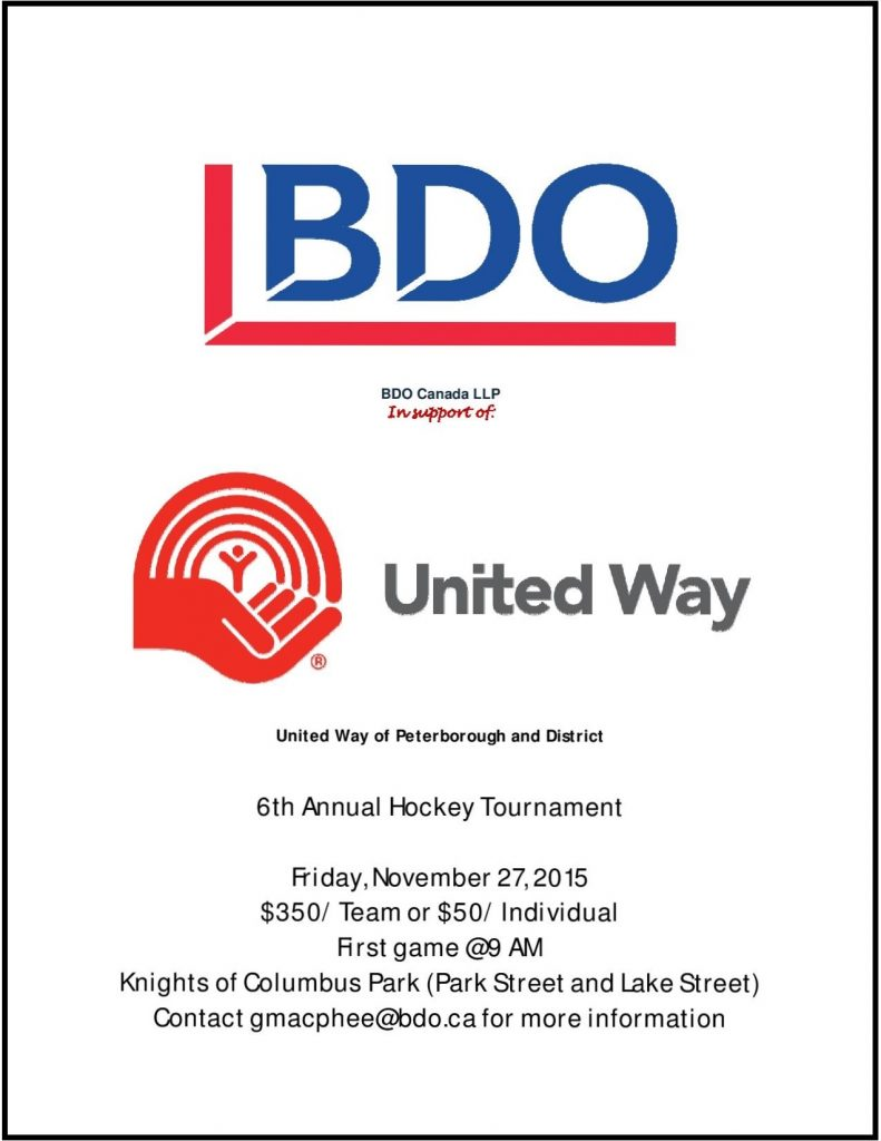 BDO Hockey Tournament