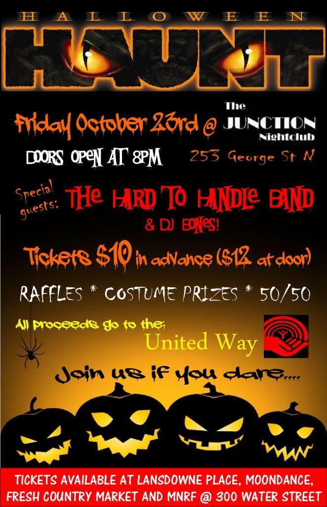 MNRF Halloween Haunt poster