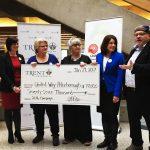 Trent University raises $77,0000 for United Way Campaign