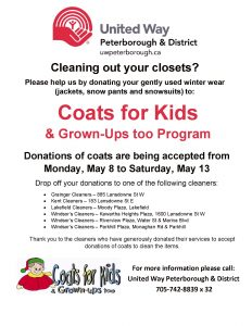 Coatsforkidsposter Collection 2017