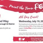 2017 UW Paint Town Red postcard 2017_FNL