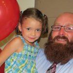 Robbie Ham and Daughter