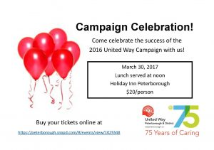 Campaign Celebration invitations now available